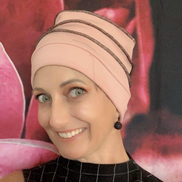 Plain Chemo Cloche Hat